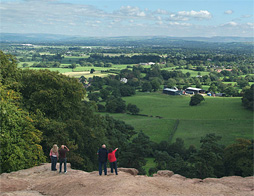 View from Stormy Point Alderley Edge